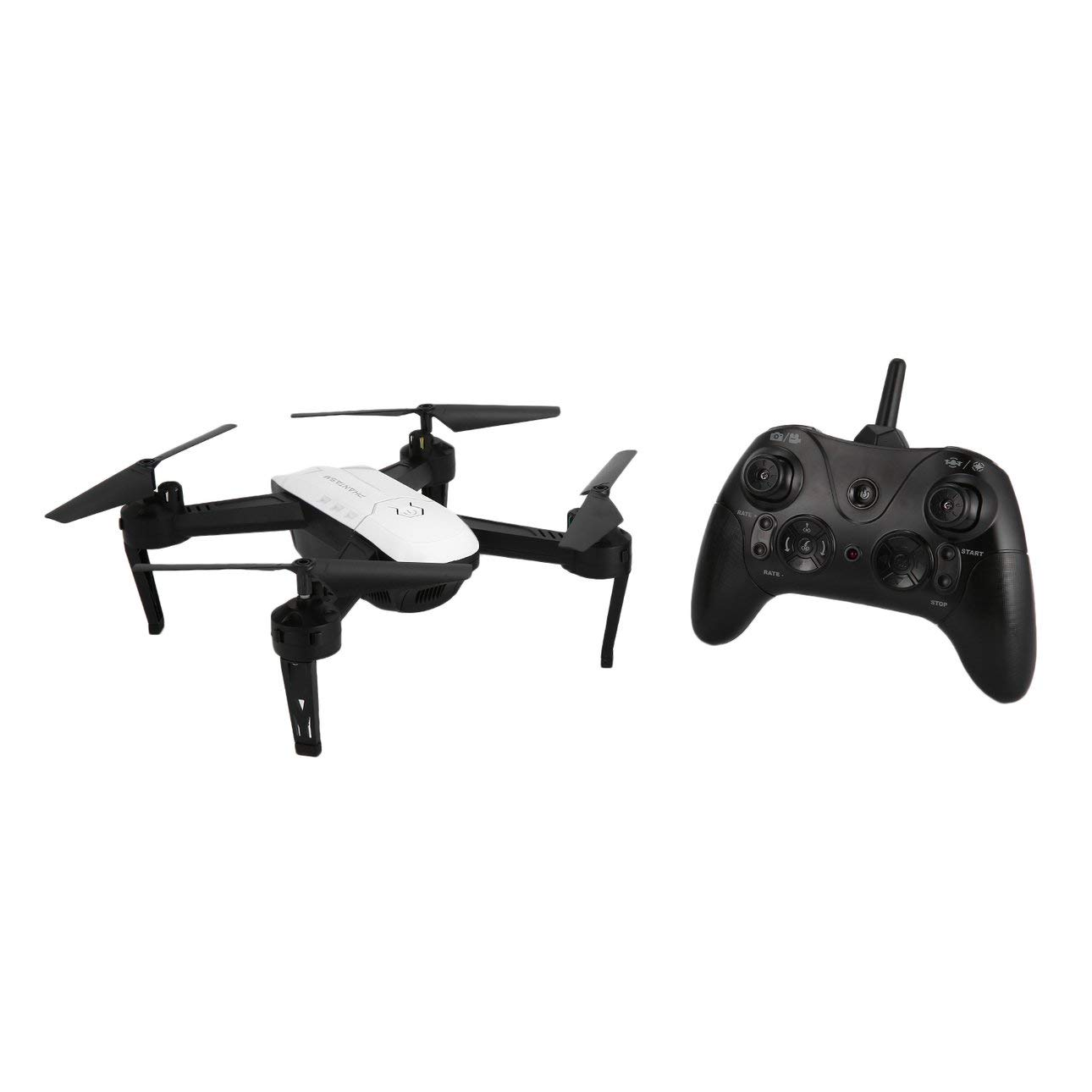 Ballylelly RC Drone S8 2.4Ghz Smart RC Quadcopter Drone Aircraft UAV con Altitude Hold One Key Ritorno One Key Take off 3D Flip Stop Light Control