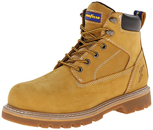 Goodyear GY6001 Lace-up Work Boot, Wheat, 11 M US