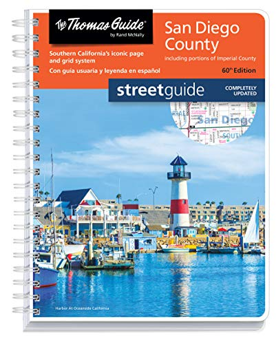 Thomas Guide San Diego County (Thomas Guide San Diego County, CA Street Guide)