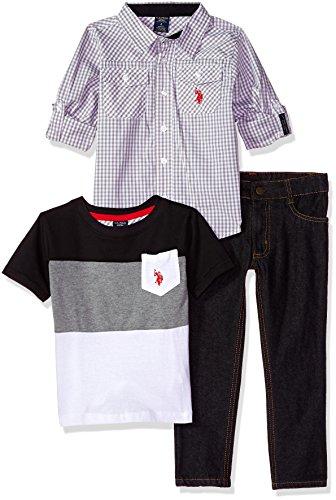 U.S. Polo Assn. Toddler Boys' Long Sleeve