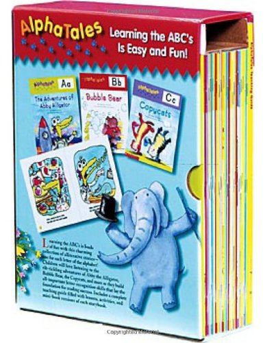 AlphaTales Box Set: A Set of 26 Irresistible Animal Storybooks That Build Phonemic Awareness & Teach Each letter of the Alphabet by Scholastic Teaching Resources