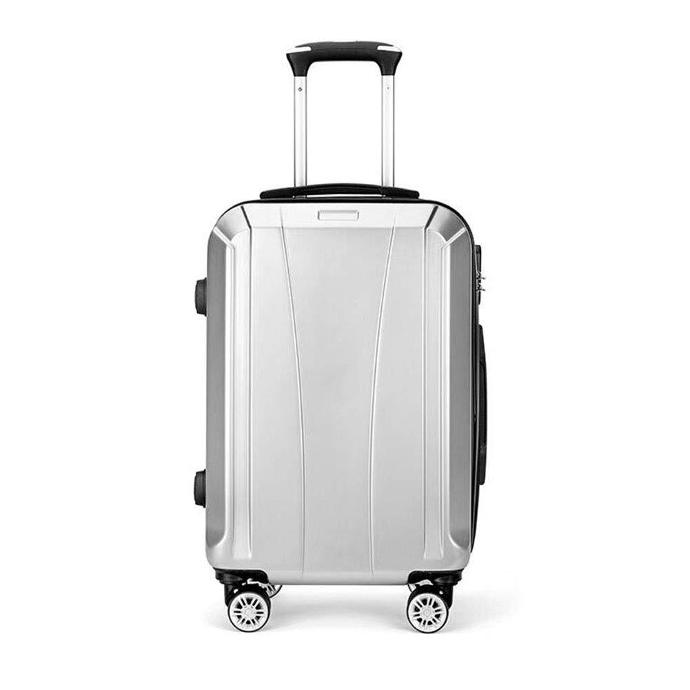 トロリー箱の大きい容量のスーツケースの携帯用荷物の純粋なアルミニウム回転可能な滑車 B07MPPBLPY