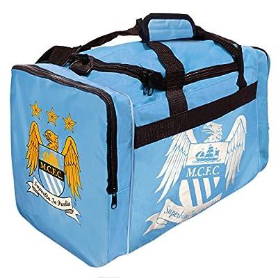 Manchester City Fc Football Club Soccer Sports Team Foil Print Holdall Bag Gift