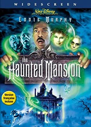 Amazon Com The Haunted Mansion Widescreen Edition Eddie Murphy Terence Stamp Nathaniel Parker Jennifer Tilly Wallace Shawn Dina Waters Marc John Jefferies Aree Davis Jim Doughan Rachel Harris Steve Hytner Heather Juergensen Rob