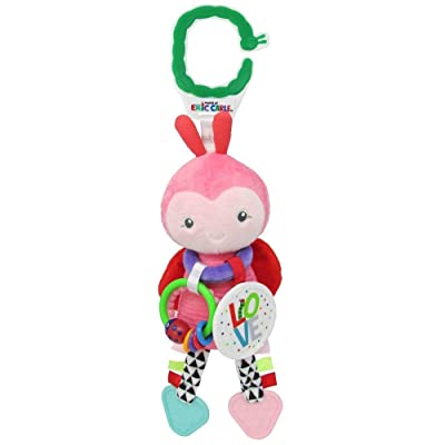 World of Eric Carle, The Very Hungry Caterpillar Activity Toy, Ladybug : Baby Plush Toys : Baby