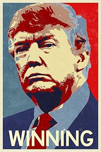 ポスター 大統領勝利キャンペーンのためのドナルド・トランプ A3サイズ [インテリア 壁紙用] 絵画 アート 壁紙ポスター