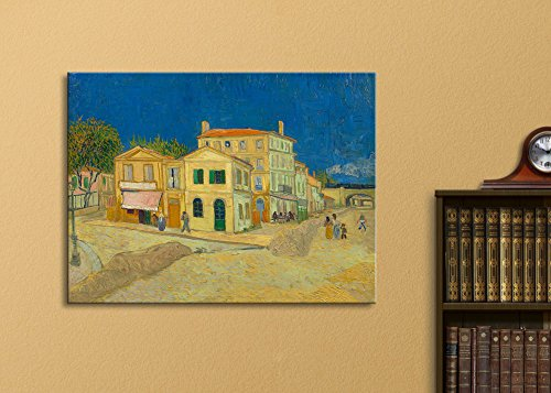 The Yellow House by Vincent Van Gogh Oil Painting Reproduction