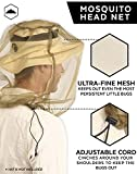 Bug Head Net & Mesh for Outdoor Protection - Extra