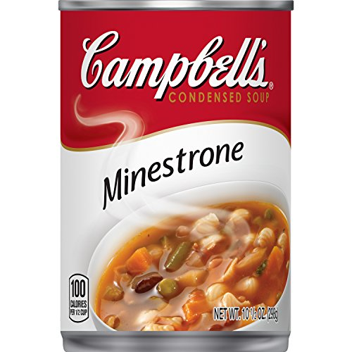 Campbell's Condensed Minestrone Soup, 10.5 oz. Can (Pack of 12)