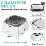 LumoLeaf Dog Water Bowl, Dog Bowl No-Spill Pet