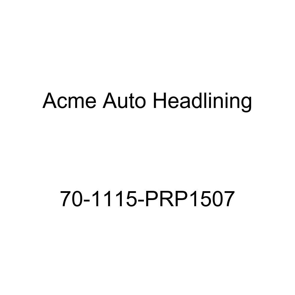 Acme Auto Headlining 70-1115-PRP1507 Red Replacement Headliner 1970 Buick Electra 4 Door Hardtop w//Original Bow Headliner