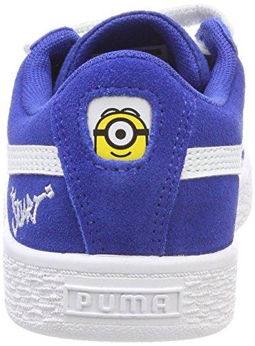 Sneakers White V olympian Mixte Bleu Suede Enfant Ps Blue puma Puma Minions Basses xIpqZI