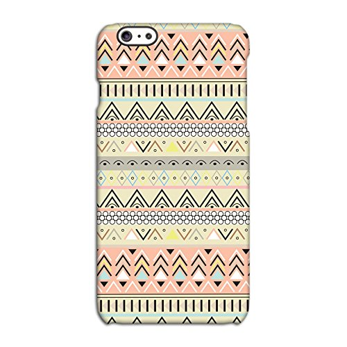 Aztec Yellow Tribal Patterned Deflector Back Case for Apple iPhone 6 6S Plus