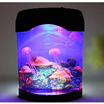Amazon Com Novelty Led Artificial Jellyfish Aquarium Lighting Fish
