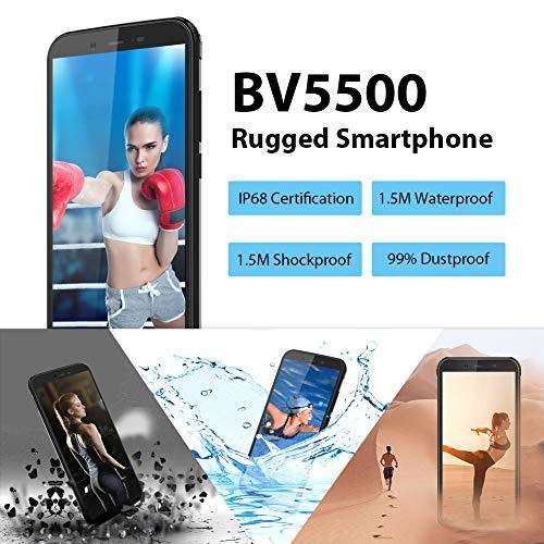 Telephone Portable Incassable, Blackview® BV5500 Ecran 5.5 Pouces HD+18:9, 16Go ROM + 2Go RAM et 4400mAh Batteries… 2