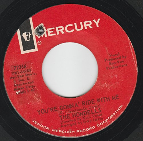 45vinylrecord-youre-gonna-ride-with-me-my-buddy-seat-7-45-rpm