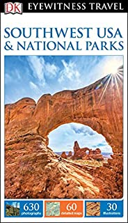 Book Cover: DK Eyewitness Travel Guide: Southwest USA & National Parks