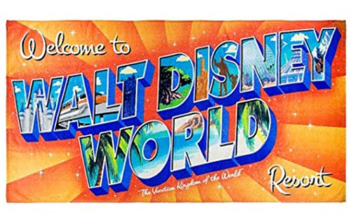 Disney Parks - Beach Towel - Walt Disney World Resort Logo