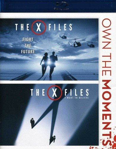 Blu-ray : X-Files Fight The Future/ X-Files I Want To Believe (Blu-ray)