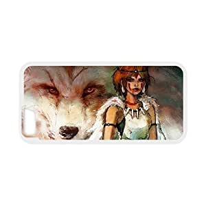 iphone 6s ,6 4.7 Inch phone case Princess Mononoke ashitaka San Hard Case White 09
