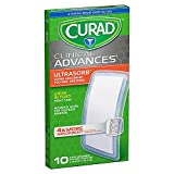 Curad Clinical Advances Ultrasorb, 4 in x 8 In, 10 ea (2 Pack)