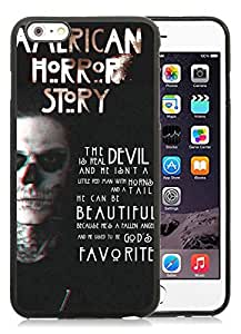 Unique iPhone 6 Plus 5.5 Inch TPU Screen Case ,Popular And Durable Designed Case With american horror story title Black For iPhone 6 Plus Phone Case Great Quality Cover Case