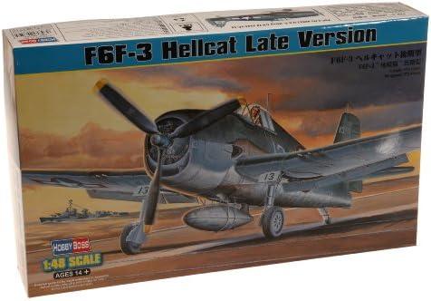 ホビーボス 1/48 エアクラフトシリーズ F6F-3 ヘルキャット 後期型 プラモデル