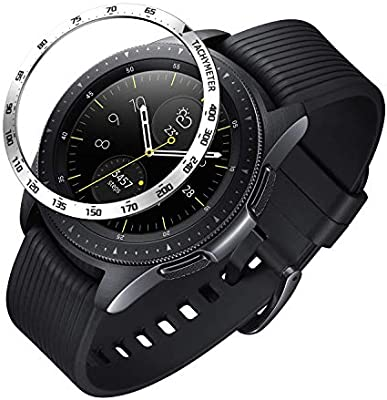 Isabake Bezel Compatible Galaxy Watch 42mm, Gear Sport Bisel ...