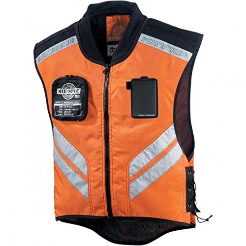 ICON Men's Mil-Spec Orange Vest, XL-3XL (Best Specs For Men)