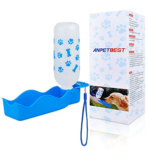 ANPETBEST Travel Water Bottle 325ML/11oz Water Dispenser Portable Mug for Dogs,Cats and Other Small Animals by ANPETBEST (Image #7)