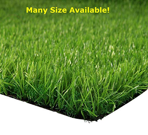 - Synturfmats 6.5'x10' Premium Indoor/Outdoor Green Artificial Grass Decorative Synthetic Turf Runner Rugs Carpet with Drainage Holes, 6.5' x10',