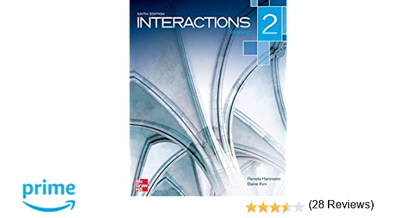 Interactions level 2 reading student book pamela hartmann elaine interactions level 2 reading student book pamela hartmann elaine kirn 9780077595104 amazon books fandeluxe Gallery