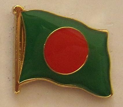 Bangladesch Pin Anstecker Flagge Flaggenpin Fahne Fahnenpin Button Clip