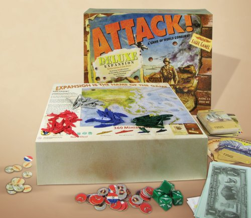 Attack Board Game (EGL: Attack! Board Game Deluxe Expansion Kit)