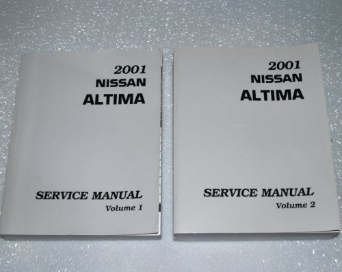 (2001 Nissan Altima Service Manuals (Model L30 Series, 2 Volume Set))