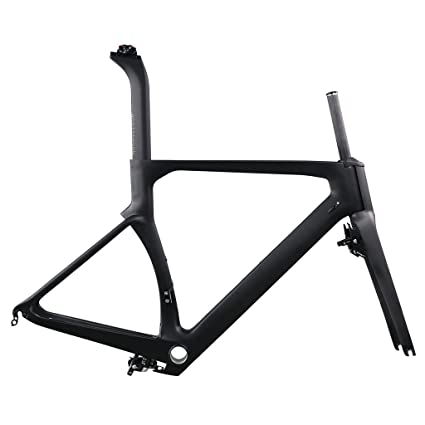 ICAN Aero Carbon Road Bike Frame Set 700C 54cm
