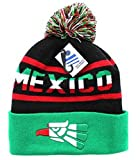 One Size Winter Knit Beanie - Mexico