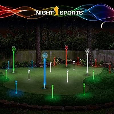 Night Sports USA Light up Golf Ball with Led Putting Set