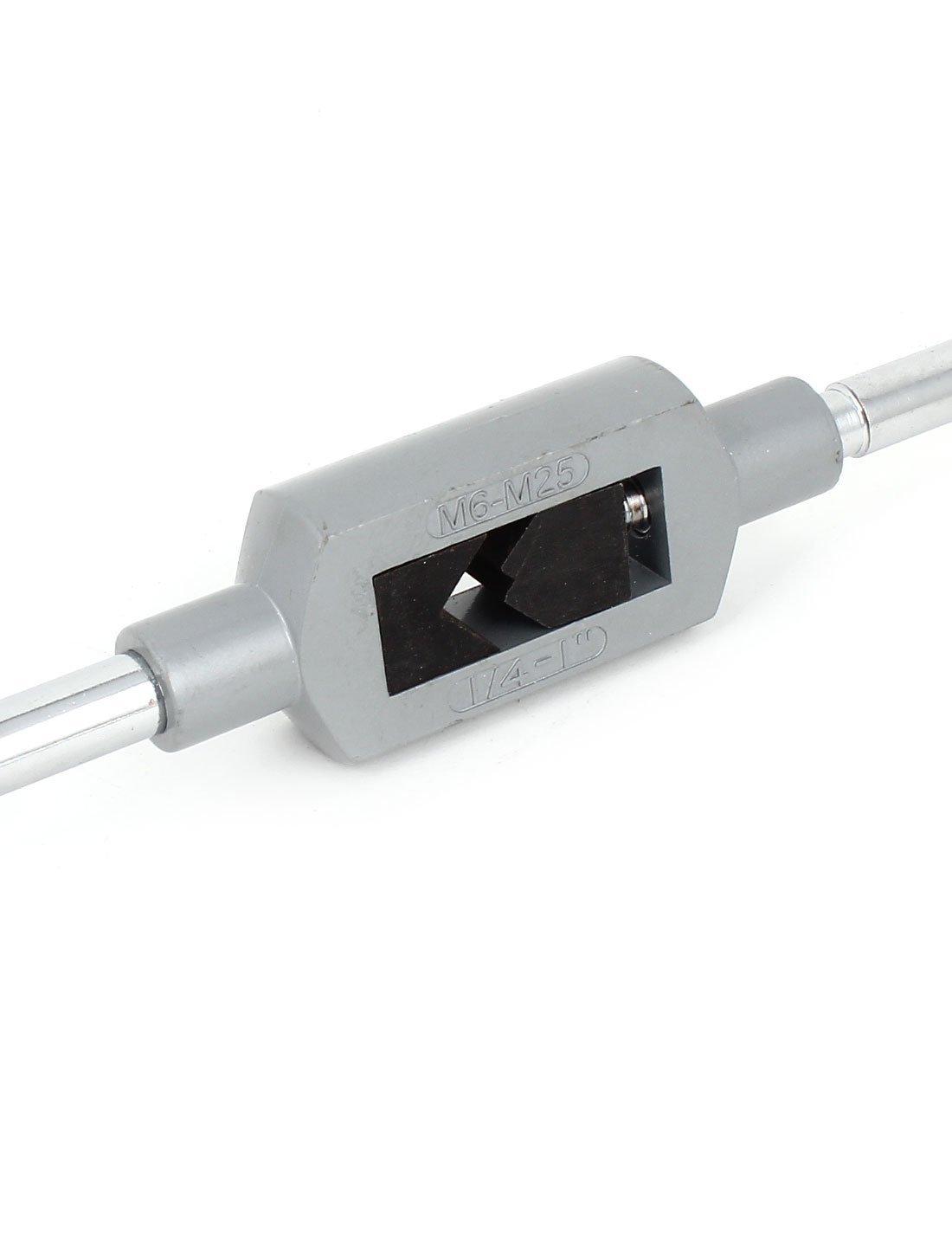 43cm de largo de 6 mm a 25 mm Tap escariador llave herramienta manija ajustable - - Amazon.com