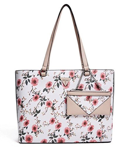 GUESS Factory Women's Circlewood Floral Tote