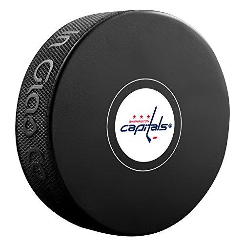Sherwood Washington Capitals Official NHL Logo Souvenir Autograph Hockey Puck