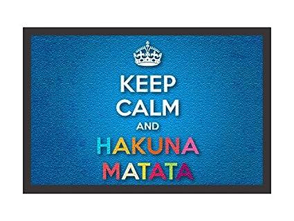 Que Significa Keep Calm And Hakuna Matata En Ingles 21th Blouse