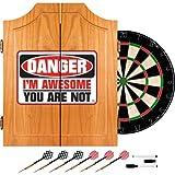 WWE The Miz Wood Dart Cabinet Set