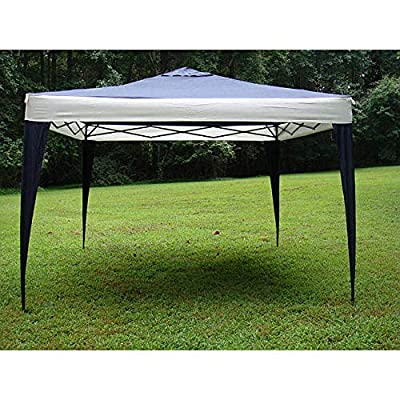 Handmade Polyester and Steel Frame Canopy Tent - 10' X White Includes Carry Bag : Garden & Outdoor