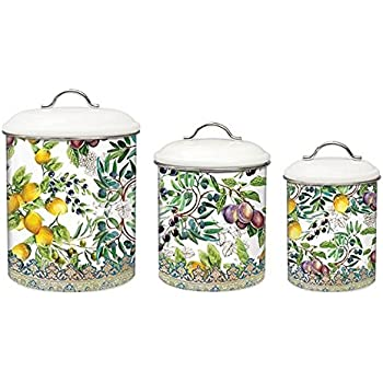 Onyx Kitchen Canister Sets