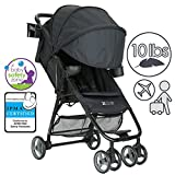 ZOE Umbrella XL1 Single Stroller - DELUXE - Black