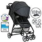 ZOE XL1 DELUXE Xtra Lightweight Travel & Everyday Umbrella Stroller System (Black)