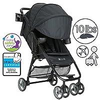 ZOE Umbrella XL1 Single Stroller, DELUXE - Black