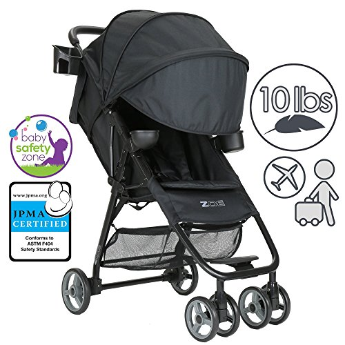 5 Point Harness Reclining Umbrella Stroller - 6