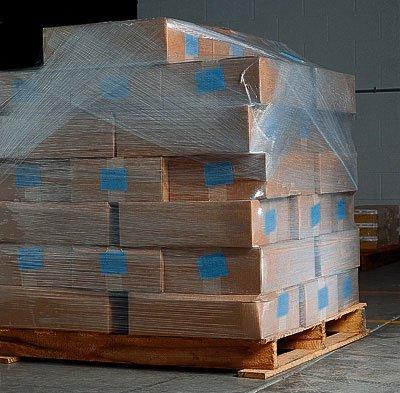 18'' x 2000' Cast Stretch Wrap (60 Gauge) (4 Rolls) - AB-20-63 by Miller Supply Inc